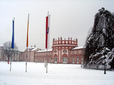 Winter in Biebrich
